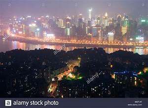 China Chongqing Municipality Chongqing city skyline Stock ...