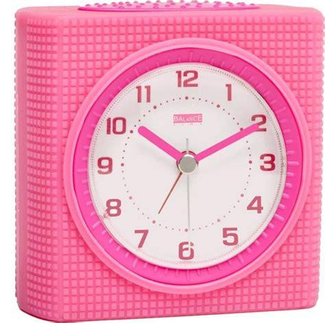 geluidloze klok balance time pink wekker kopen frank