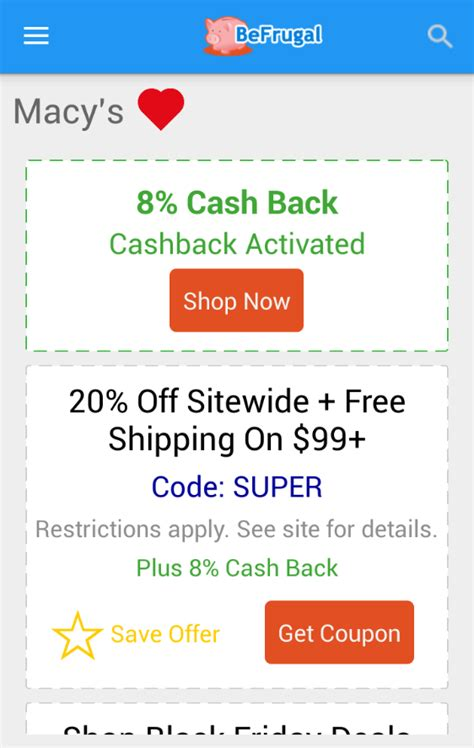 57624 Befrugal Printable Coupons befrugal back coupons android apps on play