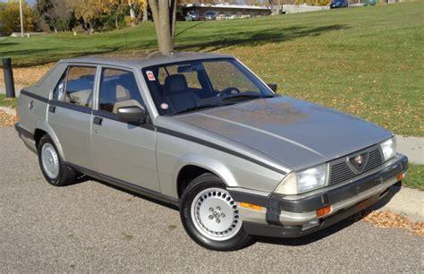 No Reserve 1987 Alfa Romeo Milano Gold For Sale On Bat