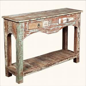 Rustic Console Tables Tedxumkc Decoration