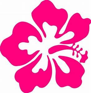 One Hibiscus Clip Art at Clker.com - vector clip art ...