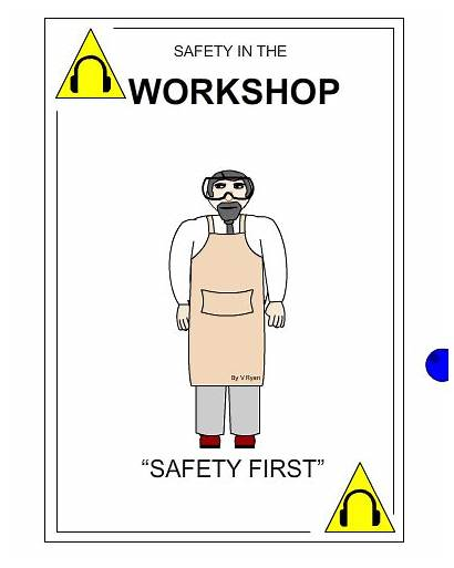 Safety Simple Poster Easy Understand Message