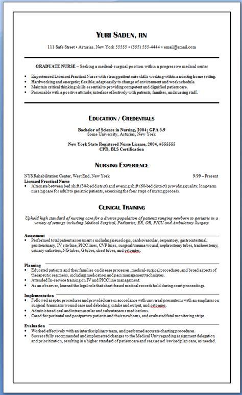 Resume Sle For Nursing by Pin Oleh Jobresume Di Resume Career Termplate Free
