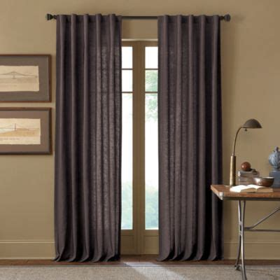 buy malta 108 inch rod pocket back tab window curtain