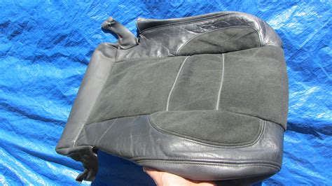 volvo  charcoal leathersuede seat covers
