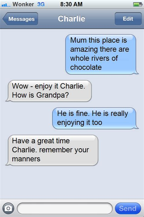 Add Meme Text - app of the day iphone text meme what would charley bucket text ant s ict