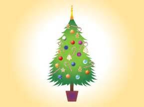 christmas tree vector image vector art graphics freevector com