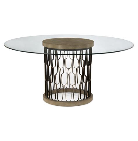 gold round dining table pablo global bazaar gold faux shagreen glass black round