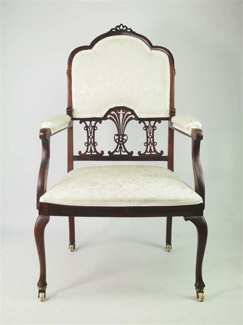 vintage bedroom chairs antique edwardian mahogany armchair bedroom chair 3164