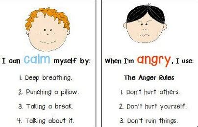 anger management for children new center 651 | power card
