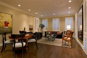 Recessed lighting living room eclectic with great