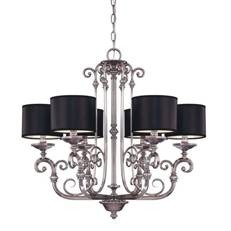silver and black chandelier new kitchen ideas