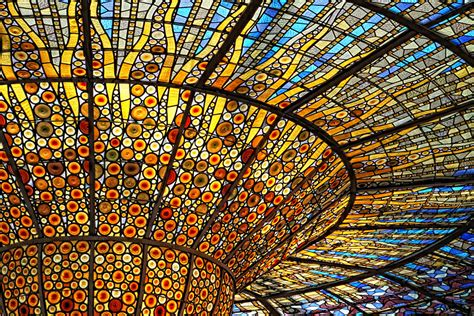 Stained Glass Ceiling Detail Stained Glass Ceiling At