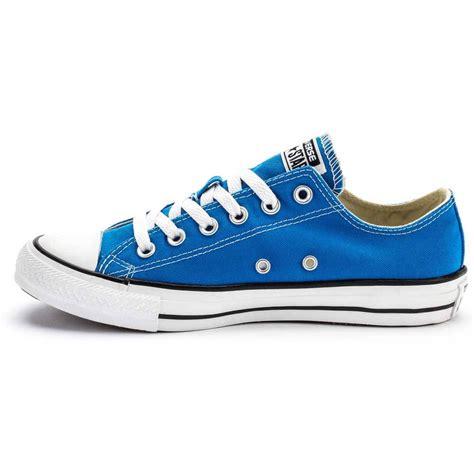 converse g o box converse all chuck low top electric blue