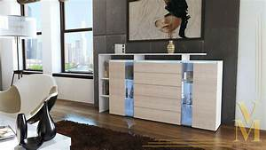 modern highboard sideboard buffet cabinet dresser lissabon With what kind of paint to use on kitchen cabinets for candle holders bulk wholesale
