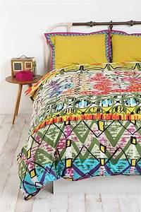 Garden Stripe Duvet Cover - Urban Outfitters