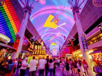 fremont light show things to do on fremont experience las vegas