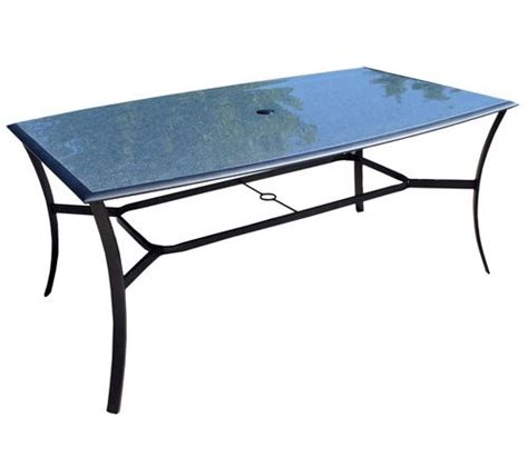 glass replacement table top for saratoga dining table at