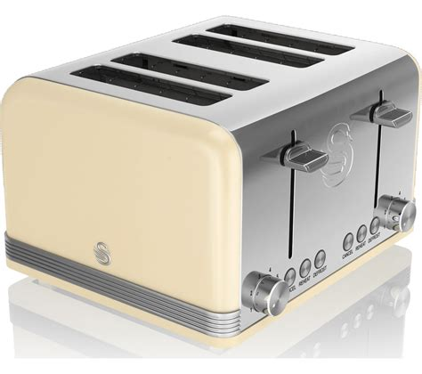 Buy 4 Slice Toaster by Buy Swan Retro St19020cn 4 Slice Toaster Free
