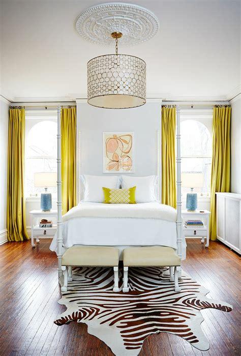 Einfache Gardinen Schlafzimmer Wohnideen  Gardinen Ideen
