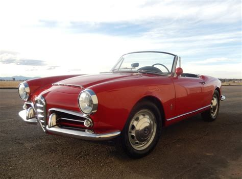 1965 Alfa Romeo by 1965 Alfa Romeo Giulia Spider 1600 For Sale On Bat