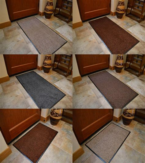 small doormat large small size plain rubber pvc kitchen cotton
