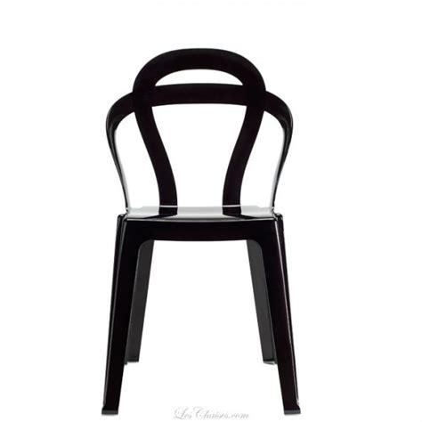 chaises transparentes pas cher chaise pas cher design titi par scab chaises de cuisine