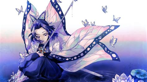 demon slayer sword butterfly  hd wallpapers hd