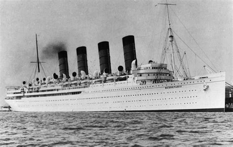 Rms Lusitania Model Sinking by File Mauretania 1930s Jpg Wikimedia Commons