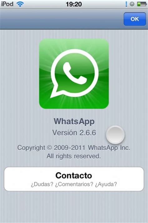 descargar whatsapp messenger 2 18 60 iphone gratis en espa 241 ol