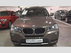 BMW X3 xDrive 20d Sparkling Bronze 2013 Exterior and