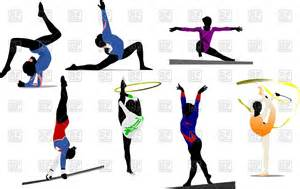 Gymnastics Cartoon Clip Art