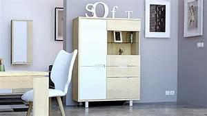 le blog mobiliermoss amenager un loft contemporain avec With meuble de salle a manger avec armoire style scandinave