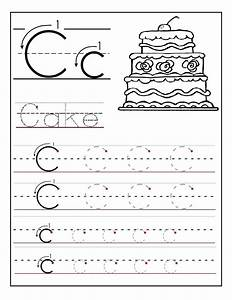 trace the letter c worksheets activity shelter With learning letters and numbers worksheets