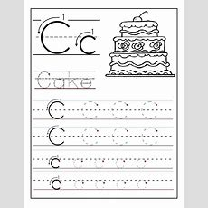 Trace The Letter C Worksheets  Alphabet And Numbers Learning  Preschool Worksheets, Lettering