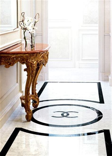 Chanel Tray Table   Contemporary   living room