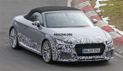 Spyshots Audi Roadster The Nurburgring