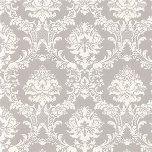Damasks, Damask wallpaper and Stencils on Pinterest