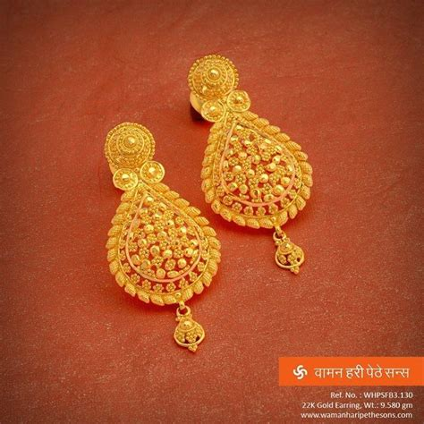 wedding ear ring designs image result for kerala traditional gold earrings