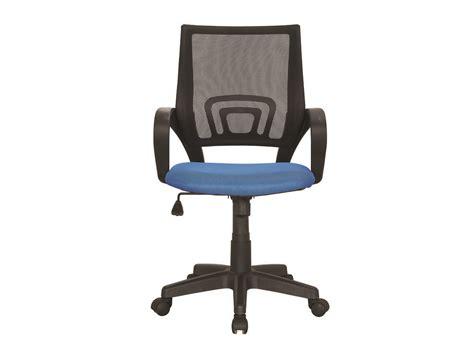 fauteuil de bureau à roulettes fauteuil de bureau à roulettes quot quot bleu 85736 85739