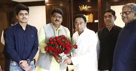 शिवराज समर्थक BJP नेता धीरज पाण्डेय CONGRESS में शामिल ...