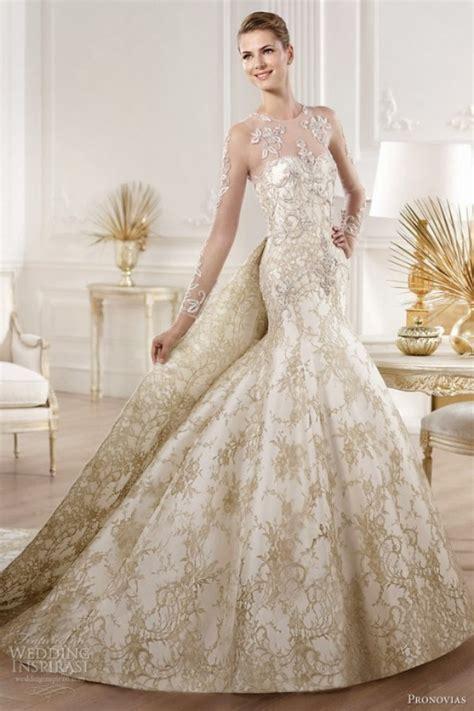 top  gold wedding dresses