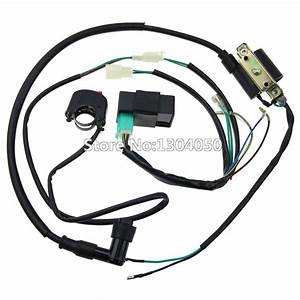 Complete Kick Start Engine Wiring Harness Loom Cdi Box