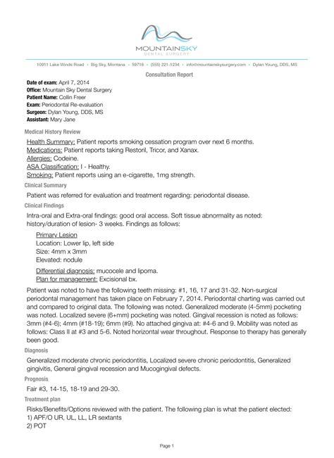 fast notes lightning fast dental surgical documentation