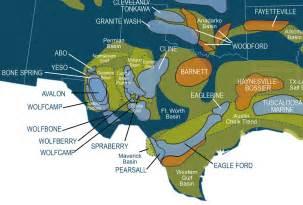 Texas Oil Shale Map