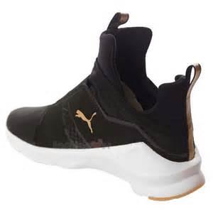 Rihanna Fierce Black Puma Shoes