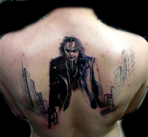 Tattoo Back Joker