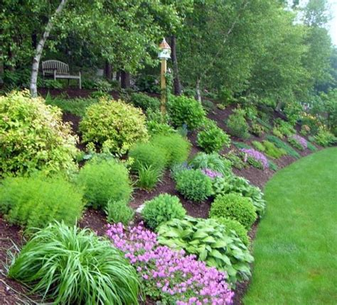 17 best ideas about landscaping a hill on how
