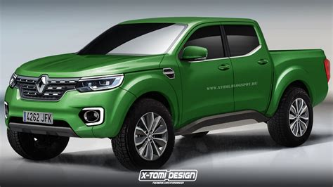 renault truck will production renault alaskan pickup truck look like